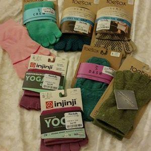 Toesox and Injinji Socks (8 Pairs)